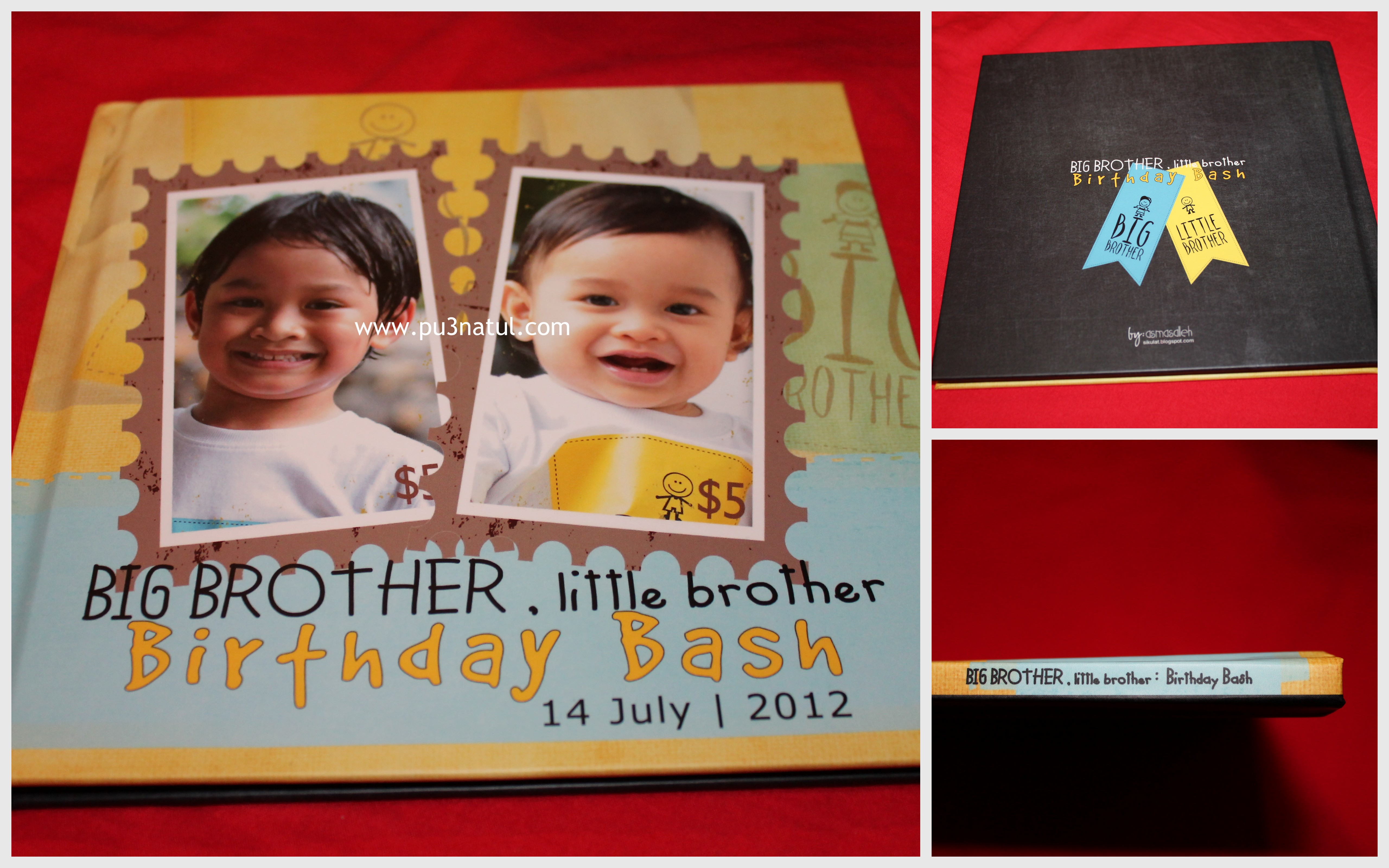 Photobook: Big Brother Little Brother Birthday Party | Our Journal ...