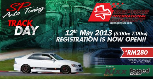 SP Auto Tuning Track Day12 May 2013