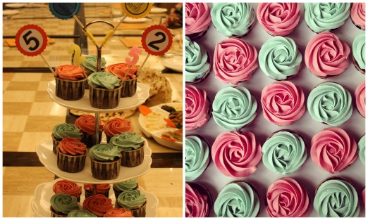 Order cupcakes je this time. I wanted to try Kak Yani's famous cuppies dah lama dah! Doesn't matter the theme was pink mint roses tak matching dengan my macho boys sebab yang penting mama suka sebab sedap sangat! Flavour is salted caramel choc ganache. *drool*