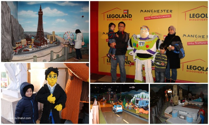 The indoor Legoland. Kesian Z he was not tall enough or old enough to play most of the rides.