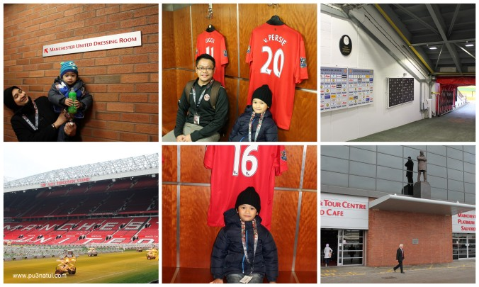 The tour inside the stadium. Sampai masuk dressing room.