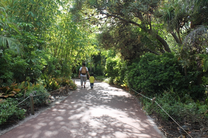 The park is nicely shaded with big trees, tak terik kena matahari. Nice!