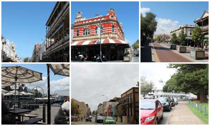 Fremantle of known as Freo by the locals.